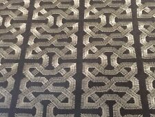 Kravet Couture Embroidered Linen Fabric Ceylon Key Darjeeling 2.0 yd 31459-616