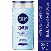 Nivea Men Pure Impact Shower Gel 250ml Purifying & Freshness with Micro Particle