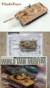 Takara 1:144 WTM World Tank Museum 9 T-10M Heavy Tank Desert Camouflage (172)