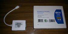 NEW Apple Mini Display Port to VGA Adapter NEW Trip Lite P137-06N-VGA