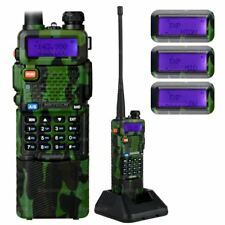 NKTECH UV-5R PLUS Tri-Power 8/4W Two-Way Radio Walkie/Talkie 3800mAh Battery CAM