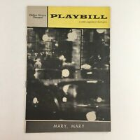 1961 Playbill Michael Wilding in Mary, Mary Broadway at Helen Hayes Theatre