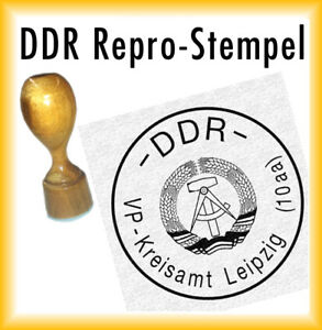 DDR Siegel - DDR Stempel - VP-Kreisamt Leipzig (10aa)