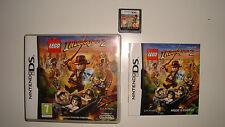 JEU NINTENDO DS DS LITE DSI XL INDIANA JONES LEGO 2 L'AVENTURE CONTINUE COMPLET