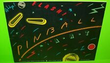 Flip Flash Pinball Art Book By Chicago Council Of Fine Arts 1982 Photos RARE