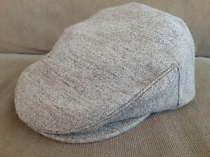 Goorin bro Wool blend Cap newsboy newsie cabbie hat Size Medium Gray
