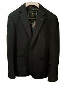 Cavani Slim Fit Men's Suit Jacket Blazer UK 36