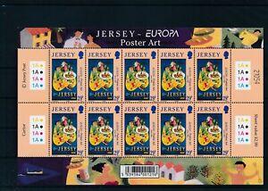 [G26044] Jersey 2003 europa poster art good sheet very fine MNH