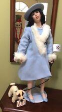 "Susan Krey Porcelain Doll Eleanor 26"" 20's style Collectible Concepts Gorgeous"