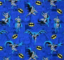 DC Comics Fabric • Batman Comics Blue • 100% Cotton Material
