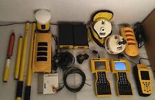 HUGE TRIMBLE LOT - TSCe Antenna Beacon DGPS GPS GeoExplorer 3 Charger & more!