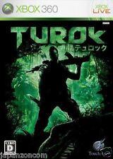 Used Xbox 360 Turok  MICROSOFT JAPAN JP JAPANESE JAPONAIS IMPORT