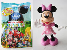 RARE 2008 MICKEY MOUSE CLUBHOUSE MINNIE FIGURE MOVING HANDS FAMOSA NEW IN BAG !