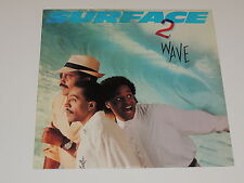 SURFACE 2nd wave Lp RECORD SURFACE SECOND WAVE