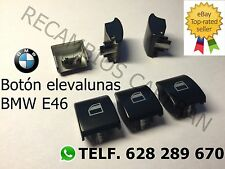 BOTON Bmw E46 INTERRUPTOR ELEVALUNAS BOTONERA NUEVO BUTTON WINDOW SWITCH SERIE 3