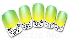 3D Nail Art Sticker Decals Transfer Stickers French Tip Design Flower (3D828)