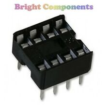 20 x Brand New 8 Pin DIL DIP IC Socket - 1st CLASS POST