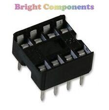 20 X Nuevo 8 Pin Dil Dip Ic Socket - 1st Class Post