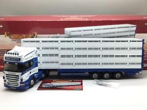 CORGI SCANIA R LIVESTOCK TRANSPORTER DERMOT CONROY CC13738 LTD TO 1250 1/50