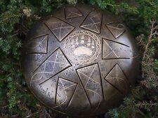 """12"""" 10 notes Steel Tongue drum (Handpan, Hand drum, Tankdrum, Hank drum)"""