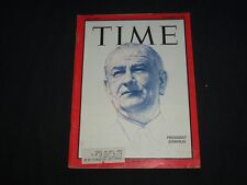 1966 NOVEMBER 4 TIME MAGAZINE - PRESIDENT LYNDON B. JOHNSON - T 2010
