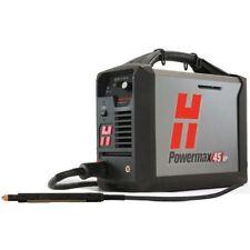 HYPERTHERM 088116 POWERMAX 45XP PLASMA MACHINE SYSTEM  25' TORCH   W/ REMOTE