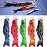 HD_ 55cm Japanese Nobori Koinobori Carp Streamer Windsock Fish Flag Kite Decor C