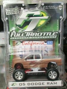 JL Full Throttle Rock Rigs 05 Dodge Ram Lifted 4x4 Offroad Sand Dune Truck Foose