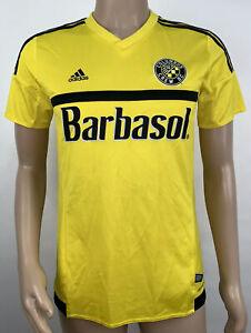 Women's Adidas ClimaCool Columbus Crew #34 Soccer Jersey Size Medium Yellow