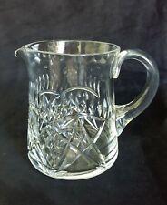 STUNNING large Edinburgh cut lead crystal glass water jug