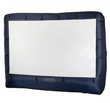 Inflatable Movie Screen Projection TV Widescreen Portable Cinema Theater 12 Ft