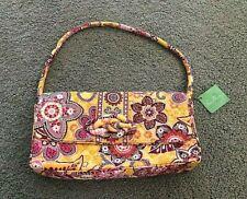 NWT VERA BRADLEY Knot Just A Clutch in BALI GOLD Convertible Purse Handbag