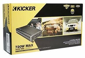 New Kicker 46CXA3604T 360 Watt RMS 2/3/4 Channel Vehicle Car Audio A/B Amplifier