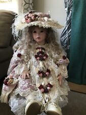 """30"""" Custom Made Porcelain Doll """"Shay"""" ? Beautiful Custom Made Outfit Posable"""