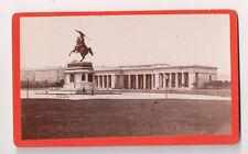 Vintage CDV Hofburg Palace Former Imperial Palace Vienna Austria