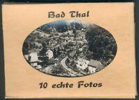 Bad Thal Bilderset von Photohaus Westphalen/Ruhla mit 10 Motiven komplett, I/II