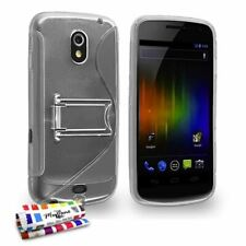 "Case samsung galaxy nexus/i9250 - the ""s"" with foot transparent rigid (tpu)"