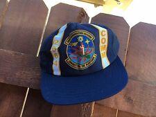 2064 Communications Squadron Alaska Vintage truckers snap back mesh baseball hat