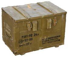 Munitionskiste MBN-62 Aufbewahrungskiste Militärkiste Munitionsbox Holzkiste