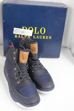 Polo Ralph Lauren Alpine 200 Boots High-Top Sneakers Men Shoes Size US 10D Navy