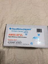 AquaMotion AM55-SFVL ECM Circulator Pump - Stainless Steel - w/ Check Valve and