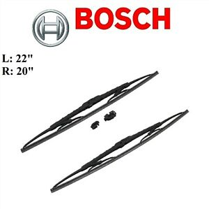 2PCS BOSCH FRONT D-Connect Wiper Blade For HYUNDAI SANTA FE 01-06/SONATA 99-05