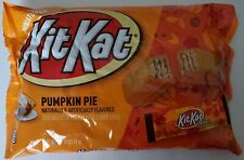 NEW Kit Kat Miniatures Pumpkin Pie Flavored Wafers 9.7 Oz Bag FREE SHIPPING