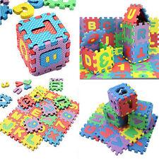 36PCS Cute Alphabet & Numerals Baby Kids Play Mat Educational Toy Soft Foam Mats