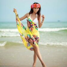 Summer Women Lady Bathing Bikini Cover Ups Beachwear Dress Sarong Wrap Swimwear