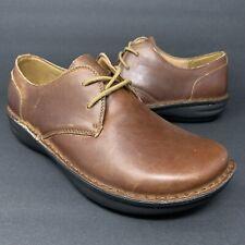 Alegria Liam Tawny Brown Leather AM-LIA-160 Lace Up Oxfords Mens Sz 43 EU 9.5 US