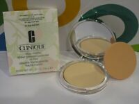 CLINIQUE ~ STAY-MATTE SHEER PRESSED POWDER ~ # 01 STAY BUFF ~ .27 OZ BOXED