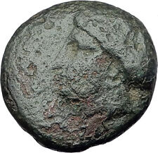 KARDIA THRACE 350BC Authentic Original Ancient Greek Coin PERSEPHONE LION i61558