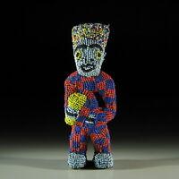 39163) Afrikanische Bamun Figur Kamerun Afrika KUNST