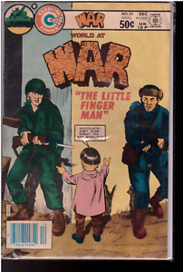 War Charlton Comics Issue #10 Oct 1978. Issue #24 December 1980